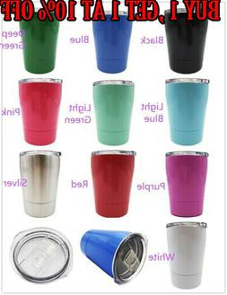 89d18485c9a 10Colors 8oz Travel Mug Stainless Steel ...