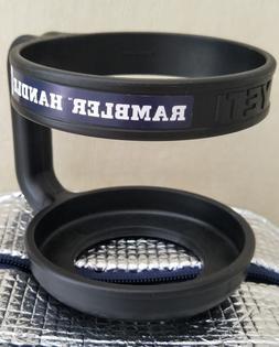 Yeti 10 oz Lowball Rambler Tumbler Handle Cooler Cup Tumbler