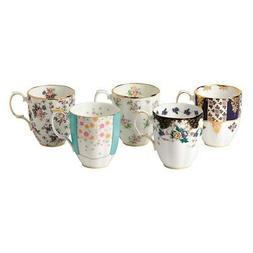 Royal Albert 40017522  100 Years 1900-1940 Mug Set, 14.1 oz,