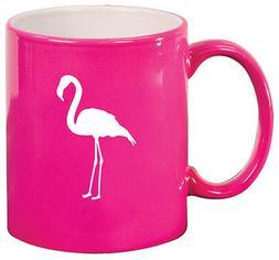 11oz Ceramic Coffee Tea Mug Glass Cup Flamingo