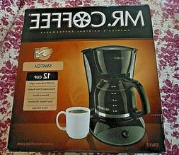 12 Cup Switch Coffee Maker Mr. Coffee - Black DW13-RB