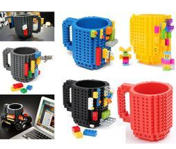 12oz/350ml Lego Brick Mug Building Blocks Coffee Cup Block P
