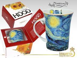 Carmani 12oz Van Gogh Starry Night Fancy Decorative Bone Chi