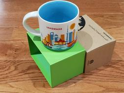 14oz Shanghai You Are Here Coffee Mug Collection City Collec