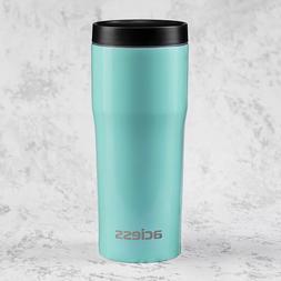 16 OZ Coffee Travel Mug for Car - Double wall coffee Mug Sta
