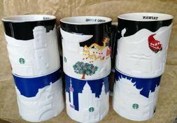 16oz Coffee Mug Global Icon City Collector Series Mugs Relie