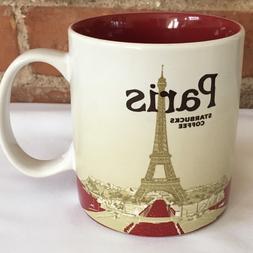 16oz Paris Coffee Mug Global Icon City Collector Series Mugs