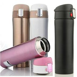 17oz Thermos Coffee Tea Travel Mug Stainless Steel Vacuum Fl