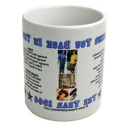 1944 Year In History Coffee Mug Includes Gift Box Born In 19