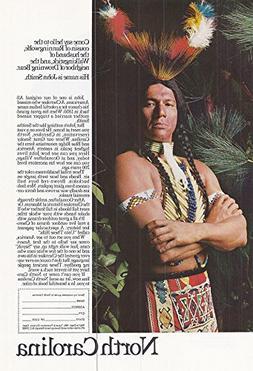 1967 Vintage Magazine Advertisement North Carolina, Come say