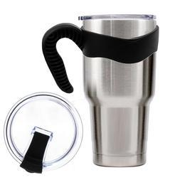 Behogar 1PCS Anti-slip Cup Handle 1PCS Seal Leakproof Spill