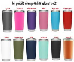 20 oz Vacuum Sealed Steel Tumbler Insulated Coffee Cup Trave