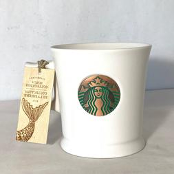 2014 Starbucks Siren Collection Copper Emblem Coffee Mug NWT