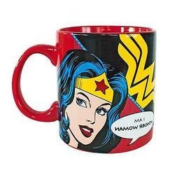 Wonder Woman 20oz Coffee Mug Red