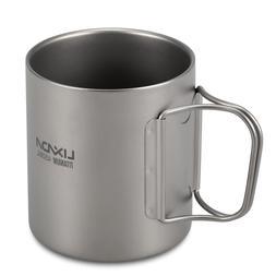 Lixada 220ml / 450ml Titanium Double Wall Cup Water <font><b
