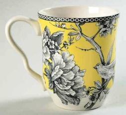 222 Fifth Adelaide Yellow Fine Porcelain Mug