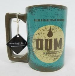 Blue Harbor 22oz Ceramic Mud Coffee Mug Microwave Dishwasher