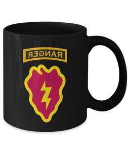 25th Infantry Division Coffee Mug - 25th ID Ranger Tab