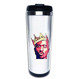 2pac Tupac Shakur Maxresdefault Travel Coffee Mug Water Bott