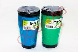 2PCS 500ML Insulated Double Wall Travel Coffee Mug CUP FROM