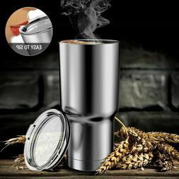 30 Oz Travel Mug Stainless Steel Tumbler Double Vacuum Insul