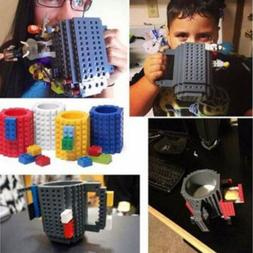 300ml Creative Build-on Brick Milk Mug Coffee Mug Cup Buildi