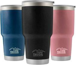 30oz Vacuum Insulated Tumbler, Yeti Rambler Cup Non-Spill Li