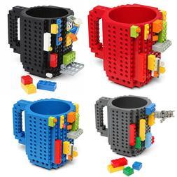 350ml Creative Build-on Brick Milk Mug Coffee Mug Cup LEGO B