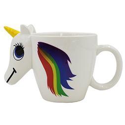 3D Heat Sensitive Magic Unicorn Ceramic Color Changing Mug C