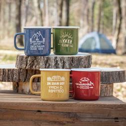 4 pack outdoor happy camper adventure coffee