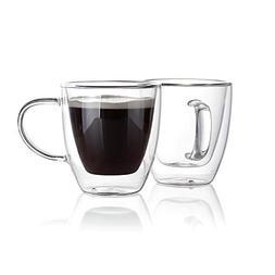 Sweese 4610 Espresso Cups Shot Glass Coffee 5 Oz Set of 2 -