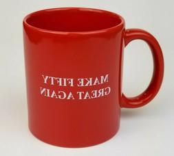 50th Birthday Gag Gift Idea Coffee Mug for Men Women Turning