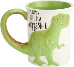 "Enesco 6000549 Our Name is Mud ""Tea Rex"" Stoneware Coffe"