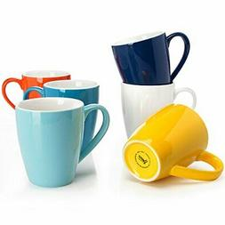 Sweese 6202 Porcelain Mugs - 16 Ounce for Coffee, Tea, Cocoa