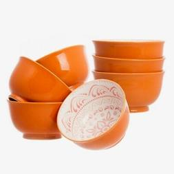 """7 Days 7 High Quality Large 6"""" Ceramic Cereal Soup Pasta Bow"""