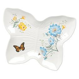 Lenox 865998 Butterfly Meadow Melamine Butterfly Tray, Large