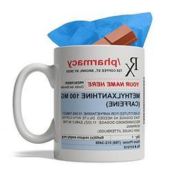 BijouLand - Personalized Pharmacy Prescription Funny Ceramic