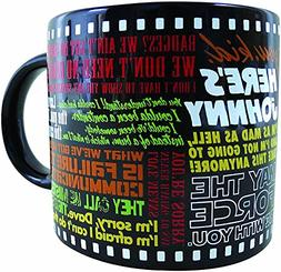 Classic Movie Coffee Mug - The Most Famous Lines from Your F