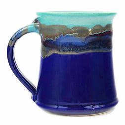 Clay In Motion Handmade Ceramic Medium Mug 16oz - Mystic Wat