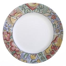 """Corelle Impressions Watercolors 10.75"""" Dinner Plate"""