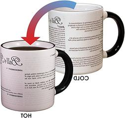 Disappearing Civil Liberties Coffee Mug - Add Hot Water and
