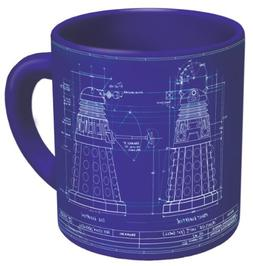 Doctor Who - Genesis of the Daleks Coffee Mug - Study the Bl