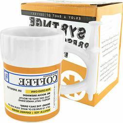 Fairly Odd Novelties Prescription Syringe Coffee Mug, 12-Oun