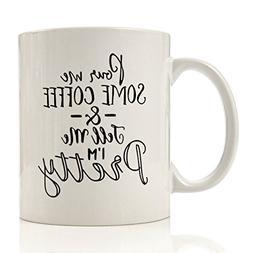 Funny Coffee Mug - 1 oz Cool Unique Mug Gift