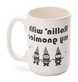 Funny Mug - Made in USA - Rollin' with my gnomies - 14 oz. C
