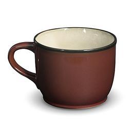 Gourmet Basics Belmont Red Jumbo Soup Mug, 28-Ounce