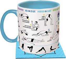 How To: Yoga Coffee Mug - Learn Yoga Poses While You Drink Y