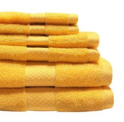 Jc Penny Home - Solid Bath Towels - 6 Piece Towel Set