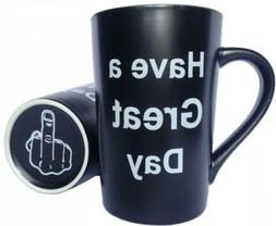 MAUAG Funny Unique Christmas Gifts - Porcelain Coffee Mug Ha