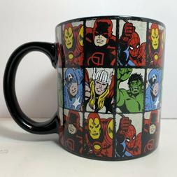 Marvel MV9134 Comics Grid Jumbo Ceramic Mug, 20-Ounces, Mult